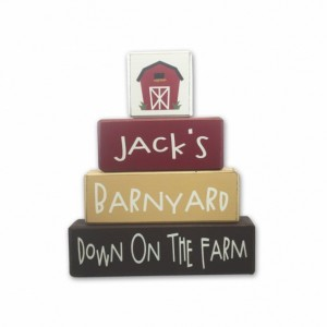 Farm Baby Shower - personalized - Farm - wood sign