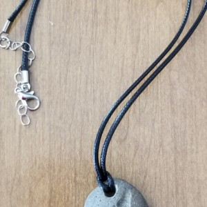 Howling Coyote Stone Necklace