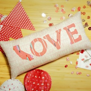 State Love Throw Pillow