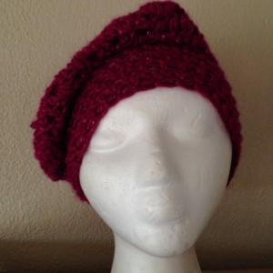 Slouch hat (Burgundy)