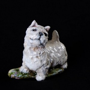 Ron Hevener Westie Dog Figurine