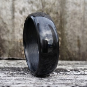 Carbon Fiber Legacy Gloss Ring