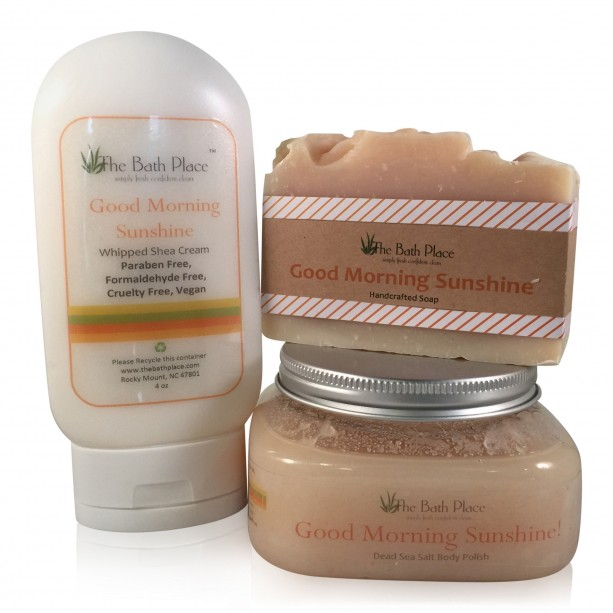 Good Morning Sunshine Energizing Bath & Body Trio