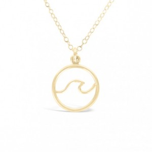 Mini Wave Necklace - Gold