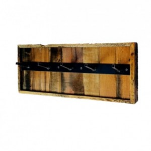 Reclaimed Industrial Coat Rack