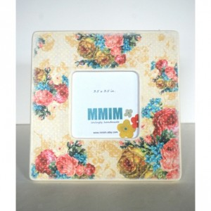 Bouquet Of Flowers Picture Frame