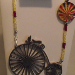 Big Bicycle Necklace