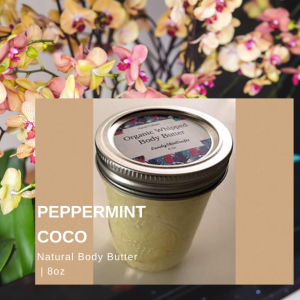 Peppermint Coco Whipped Body Butter
