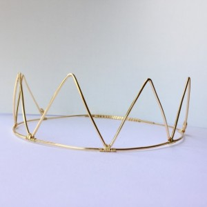 Tall Gold Crown