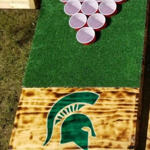 Custom built & hand painted Golf / Beer Pong