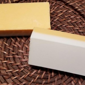 Set Of 3 Super Awesome Loaf Soap (Orange & White)