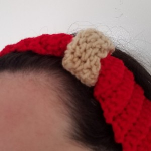 Cinched Crochet Headband