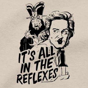 Jack Burton Men's T Shirt, It's All In The Reflexes Lo Pan Big Trouble In Little China 80s Comedy Action Movie Unisex Cotton Tee Shirt