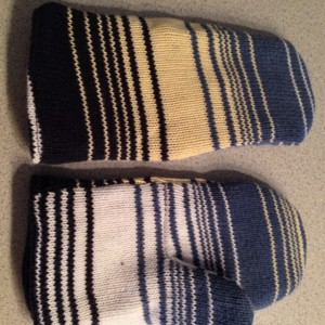 Recycled Sweater Mittens