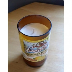 Assorted Customized Beer Bottle Soy Wax Candle 10oz