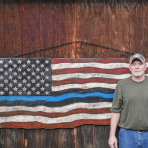 Huge American Thin Blue Line Flag