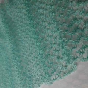 Lover's Knot Wrap in Turquoise