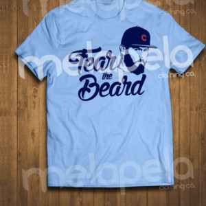"Jake Arrieta ""Fear the Beard"" T-Shirts & Hoodies (Adult sizes Available)"