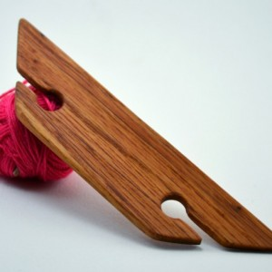 "4.5"" Weaving Shuttle For Inkle Weaving Card Or Tablet Weaving Belt Weaving Handcrafted From Red Oak"