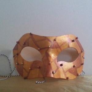 """Steampunk Jester"" Cosplay/Masquerade Mask"