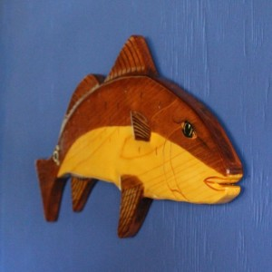Redfish, Fish (Red Drum) Wall Hanging