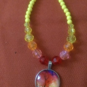 Rainbow Skies Necklace