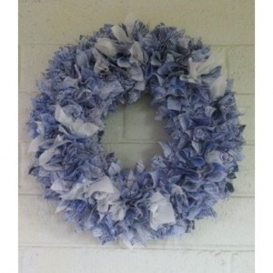 French Inspired Front Door Wreath, Door Wreath, Vintage Door Wreath