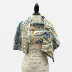 Sand and Sea Wrap - Beautiful Handmade Ladies Shawl