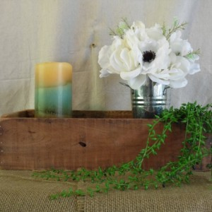 Pallet Wood Box, Small Pallet Crate, Pallet Box, Wooden Box, Small Wooden Crate, Rustic Home Decor