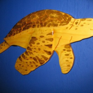 Turtle (Green)  Wall Plaque, Wall Hanging