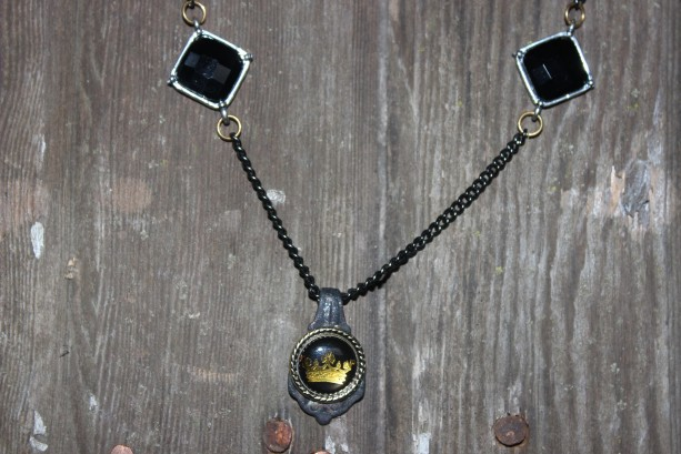 """The """" ROYAL TREATMENT"""" necklace and charm"""