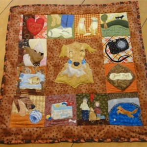 Beloved Buddy Memory Quilt- Large