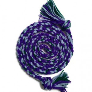 Skipping Rope, Purple, Blue and Green A Colorful Kaleidoscope