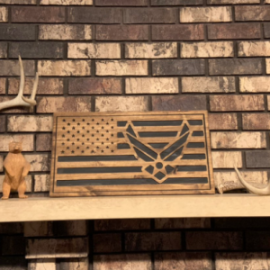 Air Force Gift Air Force Decor US Air Force Gifts for Airmen  Man Cave Decor Military Decor Military Gifts