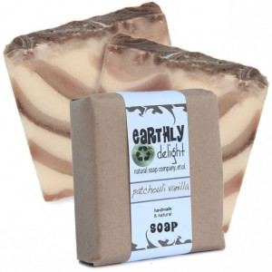 Patchouli Essential Scented Natural Soap | THREE Large Bars