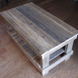 Reclaimed Plank Top End Table. shipping included