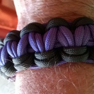 Baltimore Raven's Double Cobra bracelet