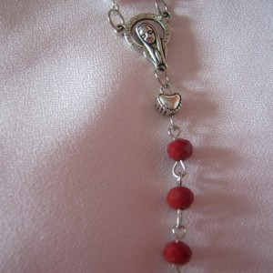 Red, White and Blue Prayer Rosary