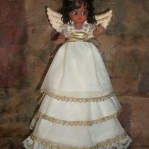 Large Angel Tree Topper for Christmas Tree