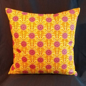 Decorative Accent Pillow - Yellow