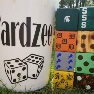 Yardzee! Custom made & hand painted with your design