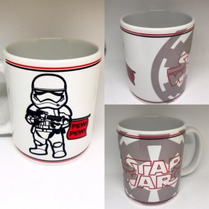 Custom Made Star wars Storm Trooper Pew Pew Coffee Mug 11oz or 15oz with your name Personalized