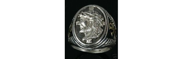 Prince of Peace sterling silver ring