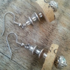 Fountain Cork Earrings