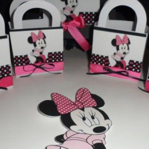 Minnie Mouse Favor Box