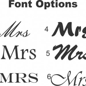 Custom Set of Mr and Mrs Engraved Old Fashioned Glasses