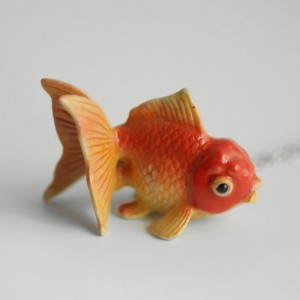 Goldfish Necklace - MADE TO ORDER