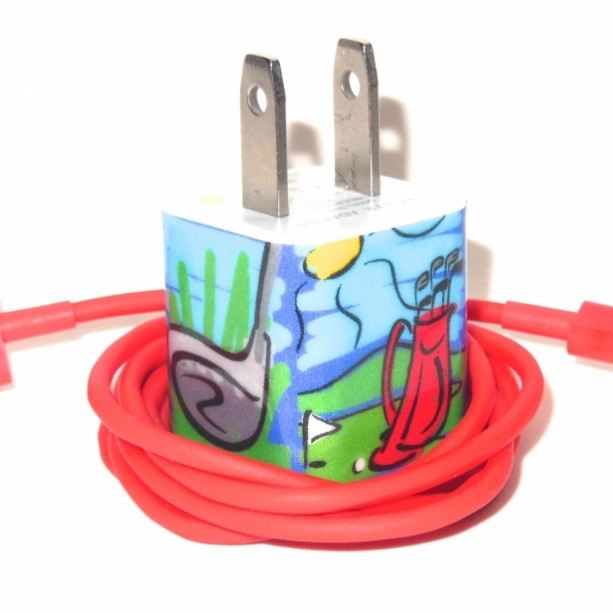 Golf Design Cell Phone Charger