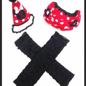 Red Minnie Mouse Cake Smash Outfit