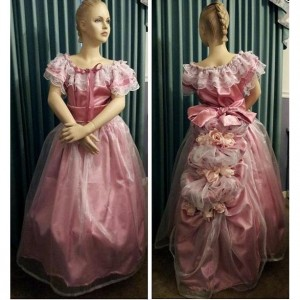 Civil War Reenactment Ladies Juniors Ball Gown Sizes, Styles and Colors